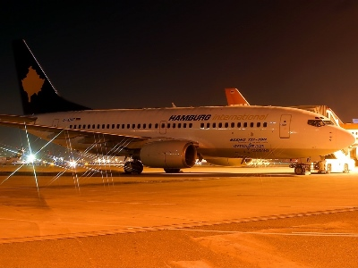 Kosova-Airlines-by-night