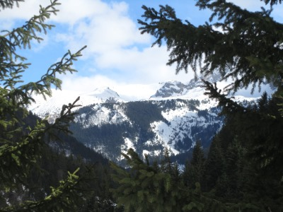 Rugova valley snow