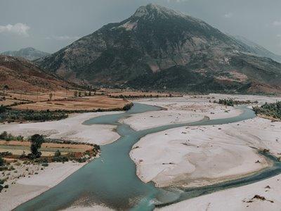 mountain in albania
