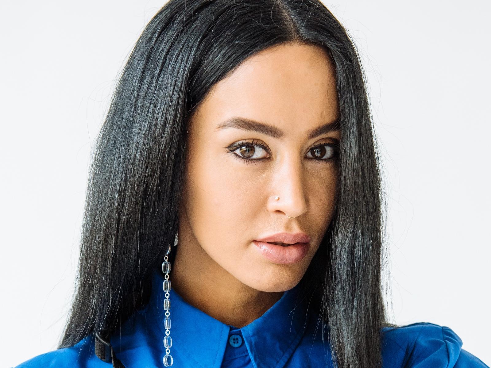 Dafina Zeqiri face close up large