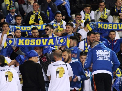 fans of the national team of Kosovo
