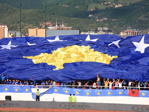 flag of the independent kosovo