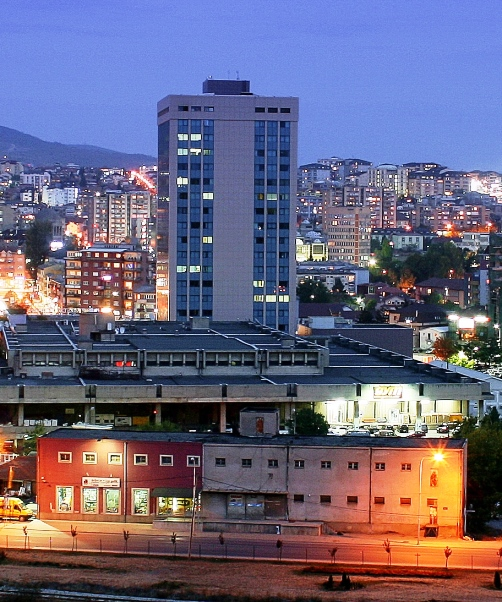pristina by night