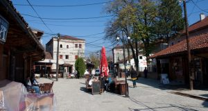 old town of gjakova in kosovo