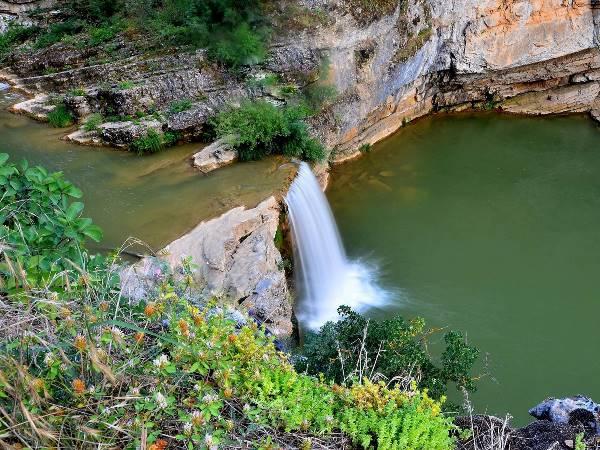 mirusha waterfalls from above